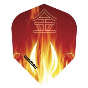 Winmau 6900-122 Mega Std Oriental Flames Fullsize Flight