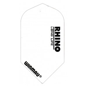 Winmau Rhino-SL107 White  Slim Flight