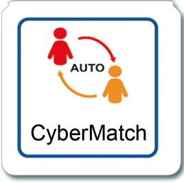 Cybermatch für elektronische Dartscheiben